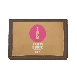 Team bride Edinburgh 2017 Henparty Z513r Trifold Wallet