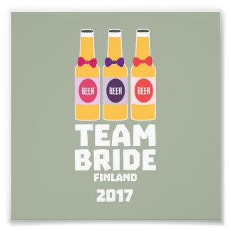 Team Bride Finland 2017 Zk36v Photographic Print