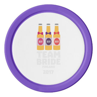 Team Bride Finland 2017 Zk36v Poker Chips