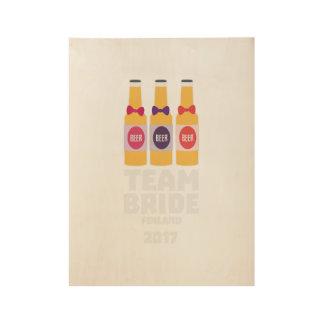 Team Bride Finland 2017 Zk36v Wood Poster