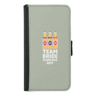 Team Bride Florence 2017 Zhy7k Samsung Galaxy S5 Wallet Case