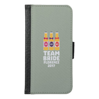 Team Bride Florence 2017 Zhy7k Samsung Galaxy S6 Wallet Case