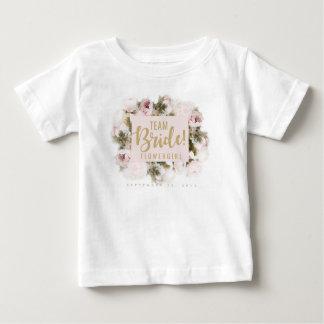 Team Bride Flower Girl Tshirt