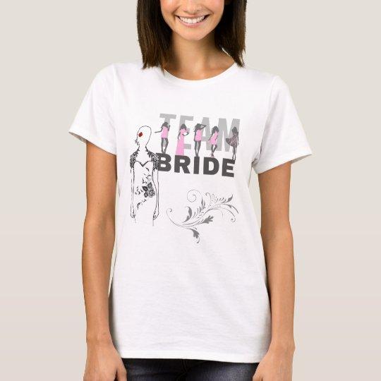 Team Bride funny, elegant, unique T-Shirt