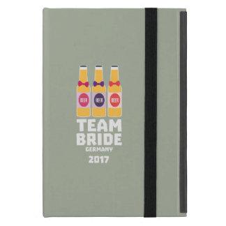 Team Bride Germany 2017 Z36e6 iPad Mini Cover