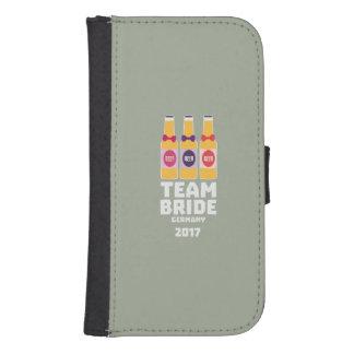 Team Bride Germany 2017 Z36e6 Samsung S4 Wallet Case