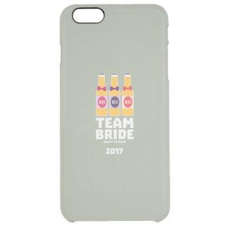Team Bride Great Britain 2017 Zqqh7 Clear iPhone 6 Plus Case