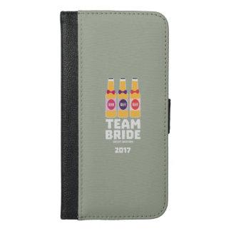 Team Bride Great Britain 2017 Zqqh7 iPhone 6/6s Plus Wallet Case
