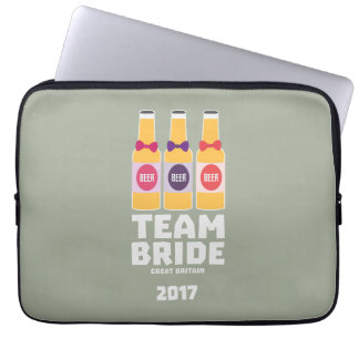 Team Bride Great Britain 2017 Zqqh7 Laptop Sleeve