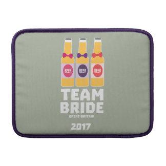 Team Bride Great Britain 2017 Zqqh7 Sleeve For MacBook Air