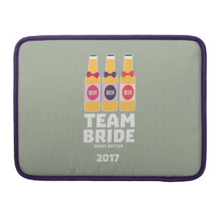 Team Bride Great Britain 2017 Zqqh7 Sleeve For MacBooks