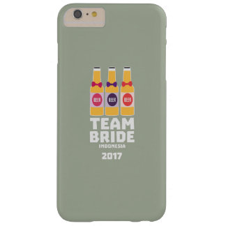 Team Bride Indonesia 2017 Z2j8u Barely There iPhone 6 Plus Case