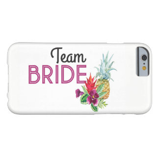 Team Bride iPhone Case Ring Aloha PINEAPPLE Tiki