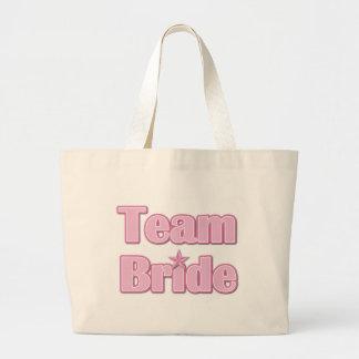 Team Bride Jumbo Tote Bag