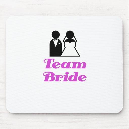 Team Bride Mouse Pads