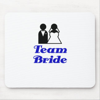 Team Bride Mouse Pad
