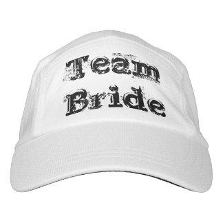 Team Bride or Groom Wedding cap hat Vintage Rustic