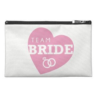 Team Bride Pink Squad Bridal Bachelorette Bag Travel Accessory Bags