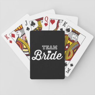 Team Bride Playing Cards