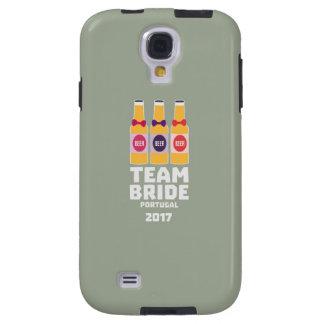 Team Bride Portugal 2017 Zg0kx Galaxy S4 Case