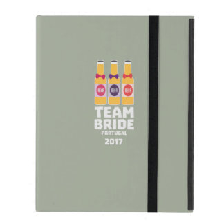 Team Bride Portugal 2017 Zg0kx iPad Cover