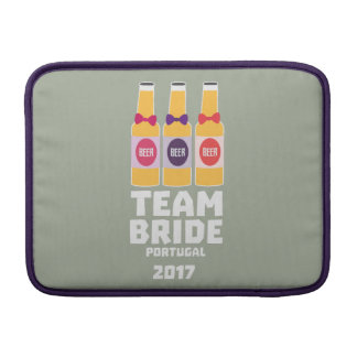 Team Bride Portugal 2017 Zg0kx MacBook Sleeve