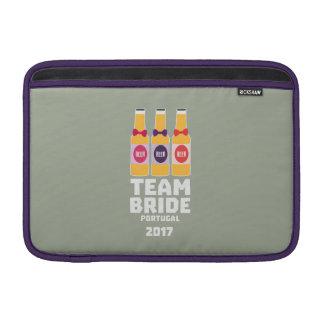 Team Bride Portugal 2017 Zg0kx Sleeve For MacBook Air