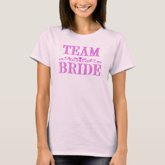 Team Bride Shirt - Customized