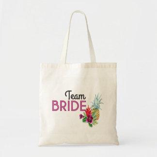 Team Bride Shower Pineapple Bride Tote Bag Item