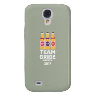Team Bride Singapore 2017 Z4gkk Galaxy S4 Cover