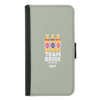 Team Bride Singapore 2017 Z4gkk Samsung Galaxy S5 Wallet Case