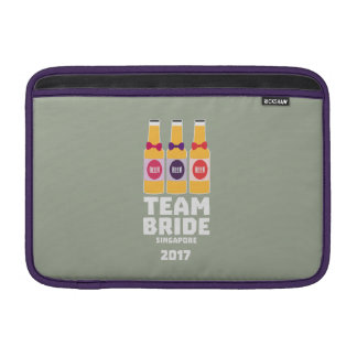 Team Bride Singapore 2017 Z4gkk Sleeve For MacBook Air