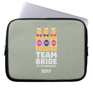 Team Bride St. Petersburg 2017 Zuv92 Laptop Sleeve