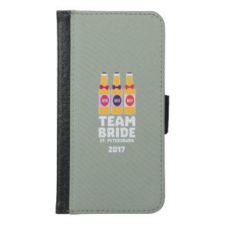 Team Bride St. Petersburg 2017 Zuv92 Samsung Galaxy S6 Wallet Case