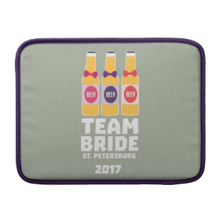 Team Bride St. Petersburg 2017 Zuv92 Sleeve For MacBook Air