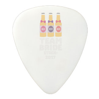 Team Bride Stockholm 2017 Z0k5v Polycarbonate Guitar Pick