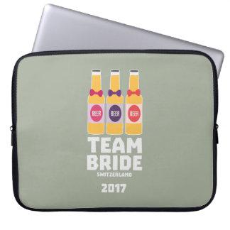 Team Bride Switzerland 2017 Ztd9s Laptop Sleeve