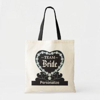 Team Bride Tote Bag - Aquamarine