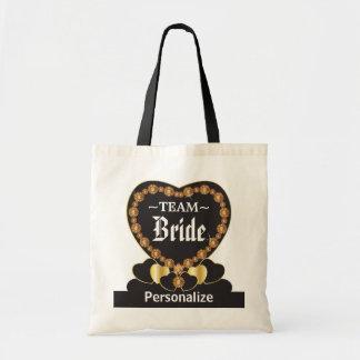 Team Bride Tote Bag - Citrine