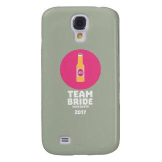 Team bride Vancouver 2017 Henparty Zkj6h Galaxy S4 Cover