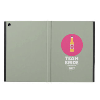 Team bride Vancouver 2017 Henparty Zkj6h iPad Air Case