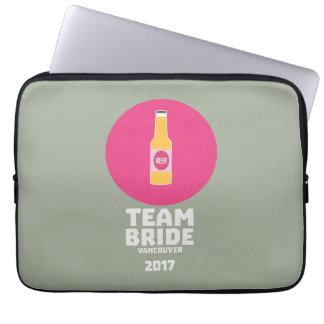Team bride Vancouver 2017 Henparty Zkj6h Laptop Sleeve