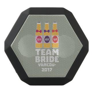 Team Bride Vancouver 2017 Z13n1 Black Bluetooth Speaker