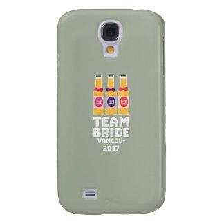 Team Bride Vancouver 2017 Z13n1 Galaxy S4 Cover
