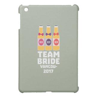 Team Bride Vancouver 2017 Z13n1 iPad Mini Case