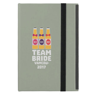 Team Bride Vancouver 2017 Z13n1 iPad Mini Cover