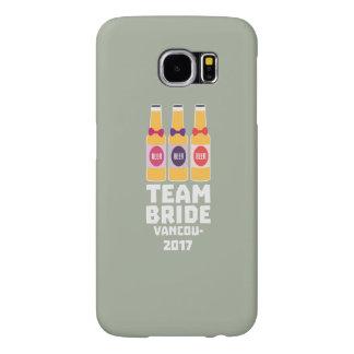 Team Bride Vancouver 2017 Z13n1 Samsung Galaxy S6 Cases