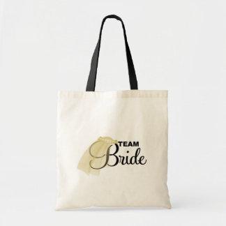 Team Bride veil Bag