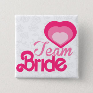 TEAM BRIDE,wedding 15 Cm Square Badge