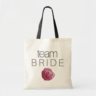 TEAM BRIDE - wedding bridesmaid tote bag